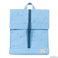 Рюкзак Herschel City Scattered Chambray Rubber