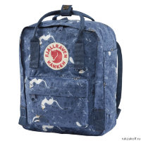 Рюкзак Fjallraven Kanken Art Mini Синий Животные