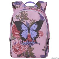 Рюкзак Grizzly Bright Butterfly Rose Rs-764-3
