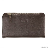 Мужской клатч BRIALDI Vinci relief brown